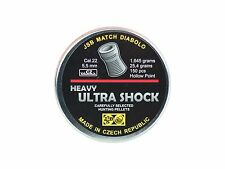 JSB Ultra Shock, .22 Cal, 25.4 Grains, Hollow Point, 150ct.Pells, JSB22-ULTRSHCK