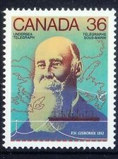 Canada 1987 MNH, Frederick Gisborne, invented anti-induction ocean cable