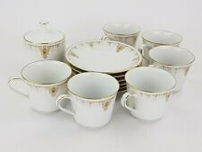 "13 Piece Vintage Noritake Tea Set Pattern ""Flora Valley"" 6958"