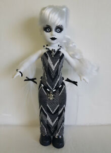 Living Dead Doll Clothes Wrap Dress Skull Belt Goth Jewelry Fashion NO DOLL d4e