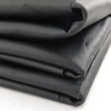 "DIY Motorcycle ATV Scooter Seat Cover Fabric - Matte Black - 27"" x 34"""