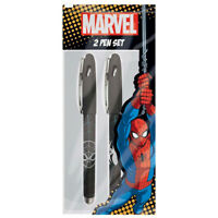 Marvel Spiderman 2 Pen Set - Stationery Toy Loot/Party Bag Fillers Children/Kid