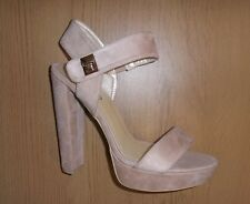 Womens No Doubt Gorgeous High Heel Shoes - Soft Beige - Size 7 - worn once