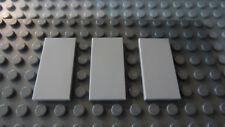 LEGO Light Bluish Gray 2x4 Tile Lot of Three