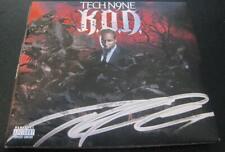 Tech N9ne K.O.D. Hip Hop Rap Rock auto CD © 2009 w/COA