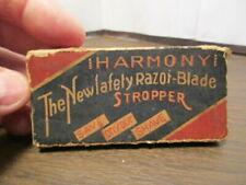 Vintage HARMONY STROPPER - Razor Sharpening Stone