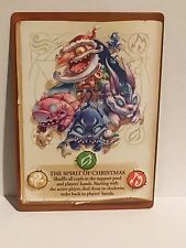 Spirit of Christmas Promotional Card Big Book of Madness Board Game IELLO Promo