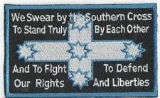 EUREKA OATH RESISTANCE  IRON ON  PATCH BUY 2 GET 1 FREE