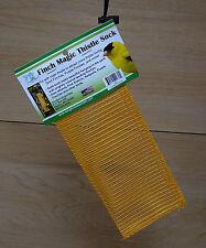 Songbird Essentials Finch Magic Gold Yellow Thistle Sack Goldfinch Bird Feeder