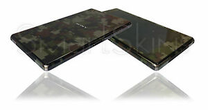 Digital Matt Camo Skin For SONY XPERIA Z1 Camouflage Wrap Decal Sticker Case