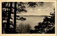 Goyatz Kreis Lübben Brandenburg DDR Postkarte 1956 Partie am Schwielochsee See