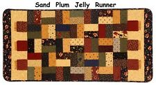 SAND HILL PLUM JELLY JAR QUILT KIT Moda Fabric Pattern  KANSAS TROUBLES QUILTERS