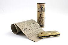 Clarke Victorian Harmonica- Key Of C- 10 Hole Mouth Organ Harp