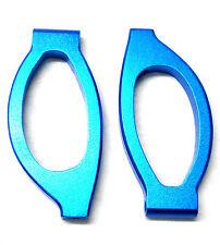 86610 286018 1/16 scala in lega di alluminio bracci di sospensione anteriore Superiore 2pcs Blu