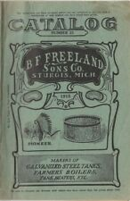 Farm & Home Steel Tanks of all type B.F. Freeland Sons Co catalog Number 23 1915