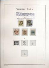 Austria 1850/1907 avanzata collezione del periodo usata N1514
