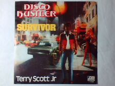 "TERRY SCOTT JR. Disco hustler 7"" ITALY UNIQUE PICTURE SLEEVE"