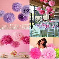 Tissue Paper Pom Poms Pompoms for Baby Living Room Party Wedding Decoration Xmas