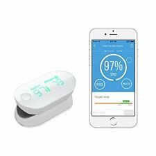 Air Pulse Oximeter for Apple & Android Measures Blood Oxygen Level & Pulse Rate