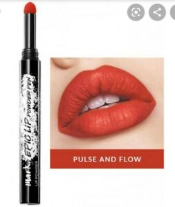 AVON Mark Epic LIP POWDER PEN Lipstick PULSE and FLOW Red RRP £8