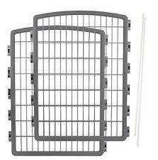 IRIS Plastic Pet Playpen/2-Panel Add-on for 8-Panel Pen, New, Free Shipping