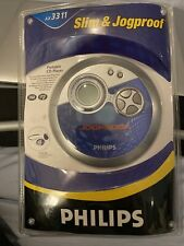 New Philips Ax3311 Slim & Jogproof Wearable Remote Control Personal Cd Player