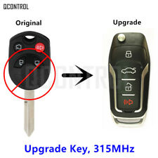 Upgraded Car Remote Key Suit for Ford OUCD6000022 315MHz 4D63(80bit)