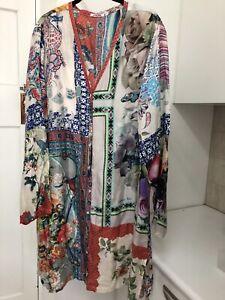 Johnny Was silk jacket / dress / blouse - XXL