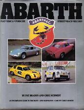 Abarth guide to cars of Carlo Abarth - Fiat Simca Porsche Alfa Braden & Schmidt