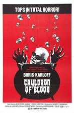 CAULDRON OF BLOOD Movie POSTER 27x40