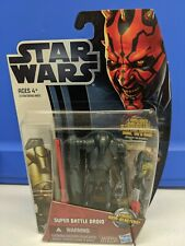 STAR WARS Movie Heroes MH02 - 2012💥SUPER BATTLE DROID💥Action Figure HASBRO