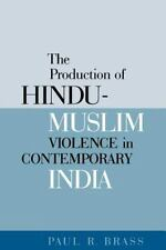 The Production Of Hindu-muslim Violence In Contemporary India (Jackson School Pu