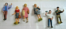 Ho Scale Figures featuring Six Miscellaneous People - Guc