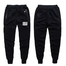 Mens Training Sweatpants Baggy Pants Jogger Casual Trousers Tracksuit Bottoms