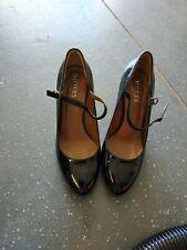 Ladies Hobbs Exquisite Black Suede Shoes Size 3(36)