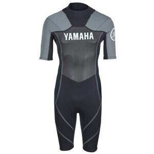 Yamaha Men's Yamaha Neoprene Shorty Wetsuit Black