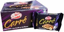 Savoy Chocolate Carre Nestle Venezuela Box 16 units of 25 grams each