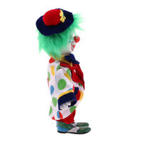 Vintage Hand Painted Porcelain Clown Doll Ceramic Clown Dolls Decoration #4