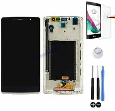 ECRAN LCD + VITRE TACTILE SUR CHASSIS BLOC COMPLET POUR LG G4 STYLUS H635 BLANC