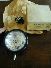KD Clear Utility Light Lamp Sealed Beam NOS KD 863-12 Tractor