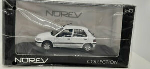 Norev 1:43 471061 Peugeot 106 Electric 1997 White NEW