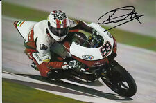 Danny Webb Hand Signed Mahindra Racing 7x5 Photo Moto3.