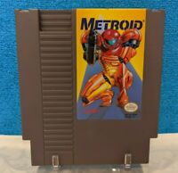 Metroid - Yellow Label (Nintendo Entertainment System, 1987) Cartridge - Working