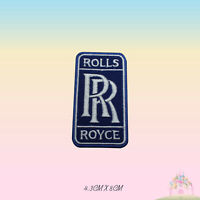Rolls Royce Car Brand Logo Embroidered Iron On Patch Sew On Badge Applique