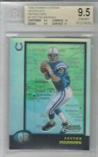 New listing 1998 Peyton Manning Bowman Chrome Interstate Refractor RC... BGS 9.5 Gem Mint