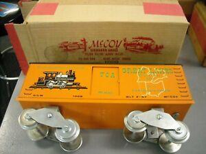 MCCOY TRAIN CAR 1966 TCA GREAT LAKES BOX CAR W/BOX - MAKE OFFERS!!!!