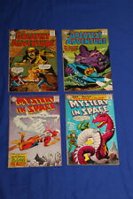 Mystery in Space My Greatest Adventure 4 comic lot DC Key Silver Age