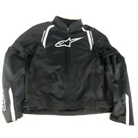 Alpinestars Air Textile/Mesh Motorcycle Riding Street Jacket (Black/White) XL