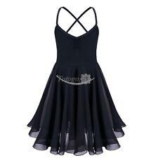 Girls Ballet Leotard Tutu Dance Skirt Toddler Chiffon Dancewear Costume Dress