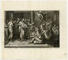 Antique Print-ANGEL-POOL OF BETHESDA-JERUSALEM-SHEEP GATE-Scheits-1754